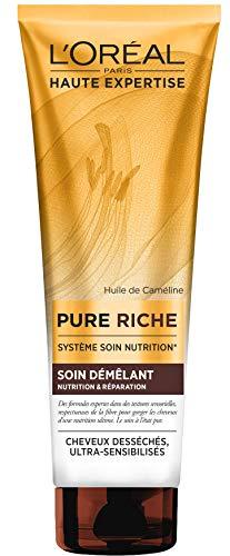 L'Oréal Paris Pure Riche - Soin démelant nutrition & réparation - Cheveux Desséchés 250 ml