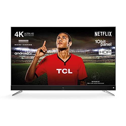 TCL U65C7006 Televisor 165 cm (65 Pulgadas) Smart TV (4K, Android TV, HDR 10,...