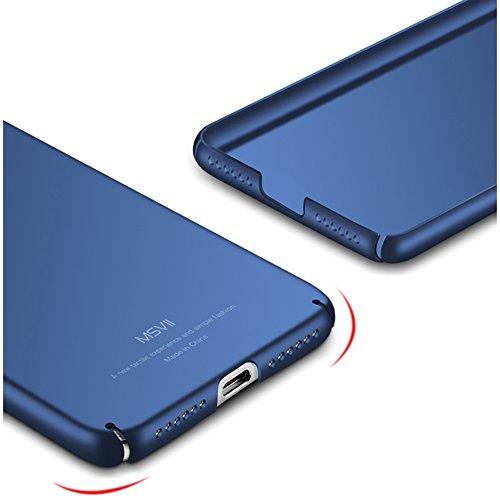 Coque Huawei Honor 8 Lite / Huawei P8 Lite (2017), MSVII® Très Mince Coque Etui Housse Case et Protecteur écran Pour Huawei Honor 8 Lite / Huawei P8 Lite (2017) - Or JY00252 Bleu