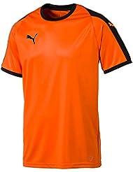 Puma Liga Jersey Camiseta, Hombre, Golden Poppy Black, XXXL