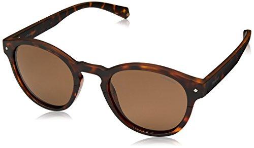Polaroid Eyewear PLD 6042/S, Montures de lunettes Femme, Marron (DKHAVANA), 49