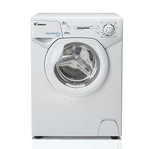 Candy Aqua 1041 D1 Waschmaschine FL / A+ / 141 kWh / 1000 UpM / 4 kg / Raumsparwunder: 69,5 x 51 x 44 cm / weiß