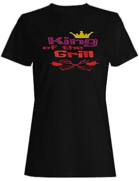 Rey De La Parrilla camiseta de las mujeres k981f