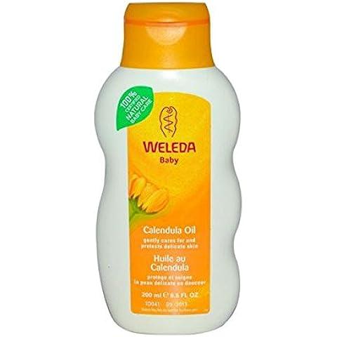 Weleda–Aceite de Bebé–Caléndula (sin perfume)–200ml