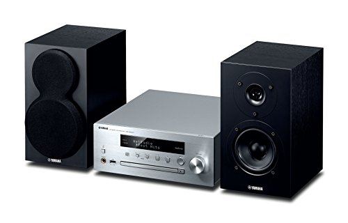Yamaha MusicCast MCRN470D Network Hi-Fi System with Airplay and Bluetooth - Silver