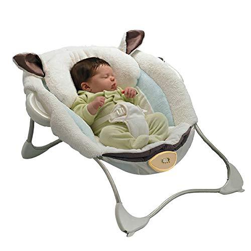 LIJUN Baby Schaukelstuhl Lehnstuhl Neugeborenes Wiege Bett Elektrisches Kind Baby Schläfrig Baby Artefakt