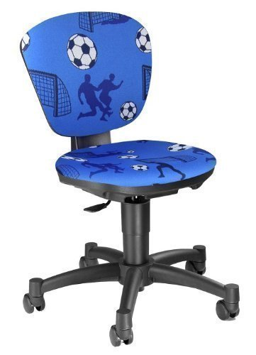 Topstar-Ergokid-Chaise-de-bureau-enfant-ergonomique-Motif-football