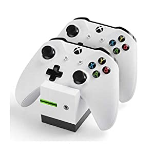 snakebyte Twin Charge X – Ladeschale für XBOX One Controller inkl. 2-fach Akku Pack mit je 800mAh