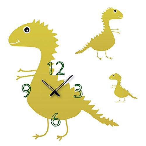 Platin Art Tiempo Adhesivo Decorativo Reloj de Pared, Time for de Dragones de
