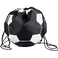 WOVELOT Outdoor Pallone da Calcio Sporting Net 1 Palline da Trasporto Borsa Sportiva Sportiva Attrezzatura Calcio Pallavolo Basket Net Bag