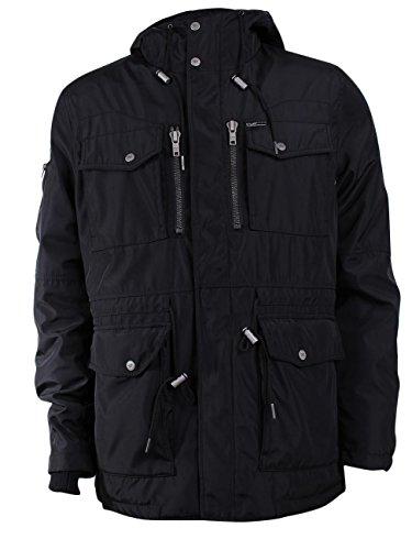Khujo Smart 2822JK163 Herren-Winterjacke Black (200) Black (200)