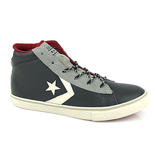 CONVERSE PRO LEATHER VULC MID LEATH SUE Nero