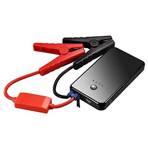 Booster Batterie Portable VTIN 300A Peak 8000 mAh Jump Starter Démarreur de Voiture et Fonction Batterie Externe pour des Téléphones, Protection de sécurité Advancée, Lampe de Poche LED Intégrée