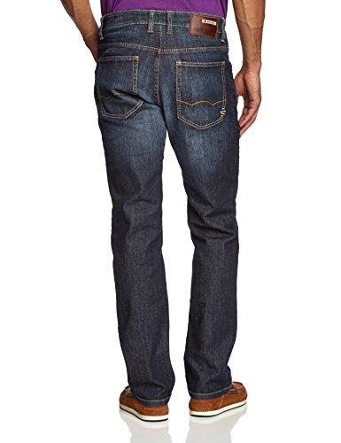 Camel Active Herren Straight Leg Jeans 488845/9939 Blau (DARK BLUE USED 41)