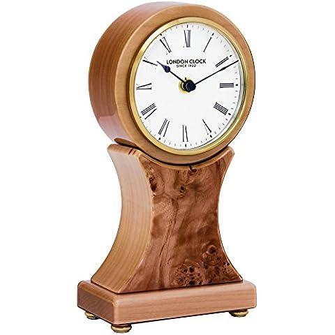 Reloj de mesa de madera