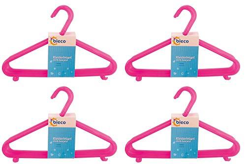 Bieco/ in tinta unita /Gruccia in plastica per bambini