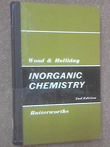 INORGANIC CHEMISTRY: A GUIDE TO ADVANCED STUDY.