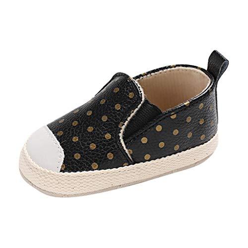 Dtuta Baby MäNnliche Und Weibliche Baby Welle Punkt Elastische Dehnung Einen Fuß Kleinkind Schuhe Einzelne Schuhe Baotou Schuhe Sportschuhe Freizeitschuhe -