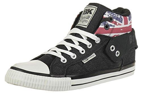 British Knights ROCO Union Jack Sneaker Schwarz EU38