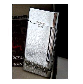 Pierre Cardin Luxus Feuerzeug Silver 90125