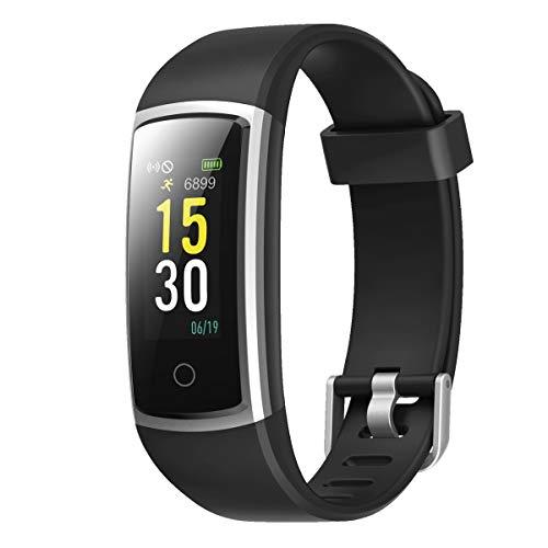 LATEC Fitness Armband, Smartwatch Fitness Tracker Wasserdicht IP68 mit Pulsmesser Fitness Uhr Aktivitätstracker Pulsuhren Schrittzaehler Uhr Smart Watch