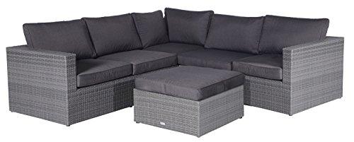 Garden Impressions 03832AM Lounge Set, Earl Grau, 240 x 240 x 64 cm