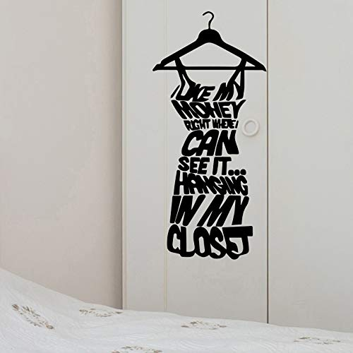 Mode Frauen Kleid Design Wandaufkleber Für Garderobe Dekoration Wandtattoo Abnehmbare Vinyl Wandkunst Wand Weiß M 20 cm X 43 cm (Emoji-kleider Für Frauen)