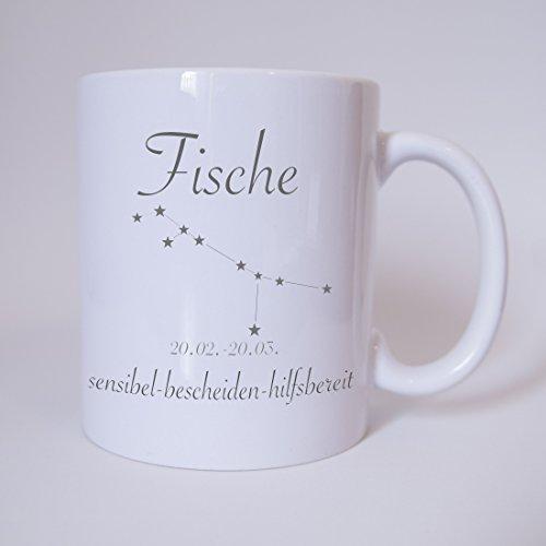41nNhg2V2SL Sternzeichen Fische Kaffeetasse Becher Tasse