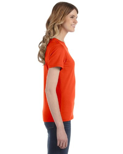 Anvil - Maglietta 100% Cotone - Donna arancione - arancione
