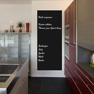 Lavagna memo adesiva in pellicola facile da incollare - Parete lavagna cucina ...