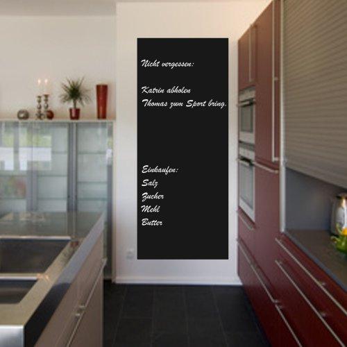 Tafelfolie+++ Nichts mehr vergessen+++Kleben Sie Ihre Memotafel doch einfach an die Wand Größe 160cm x 60cm +2 x Kreide