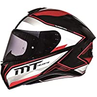 MT - Casco Integral MT Targo Interact A1 Rojo Perla Brillo Talla L (59-