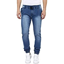 Urbano Fashion Men's Slim Fit Jeans (jog-hps-lblue-32-01)
