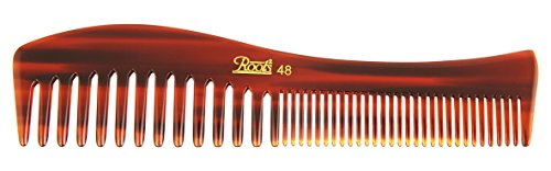 Roots Hair Combs - Brown Dressing Comb for Wavy/Curly Hair