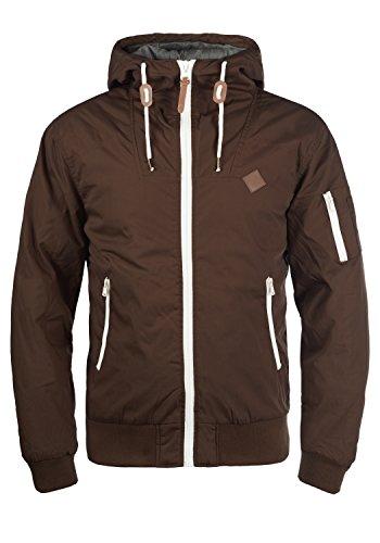 !Solid Tilly Herren Übergangsjacke Herrenjacke Jacke Mit Kapuze, Größe:3XL, Farbe:Coffee Bean (5973) (Kapuzen-anorak-jacke)