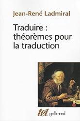 Traduire : théorèmes pour la traduction