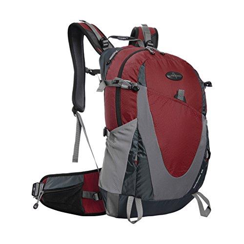 Zaino outdoor alpinismo/Zaino trekking grande impermeabile/zaino da viaggio-giallo 28L viola