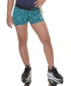 """Nike pro beinkleid 3 """"girafe short pour femme, vert, 683541–309 xS"""