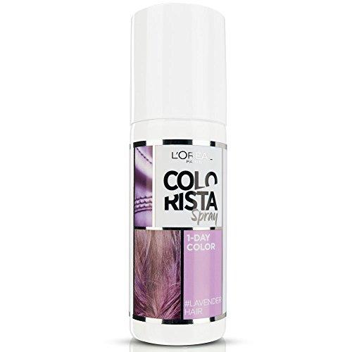 L'Oréal Paris Colorista Spray 1-Day Color, Colorazione Temporanea un Giorno, 75 ml, Lavanda (Lavander)