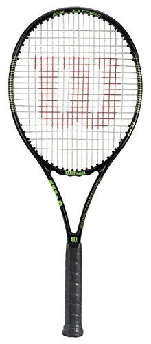 WILSON Blade 104 Tns Rkt W/O Cvr 3 Serena Williams Racchetta, Nero/Giallo (Nero/Lime)