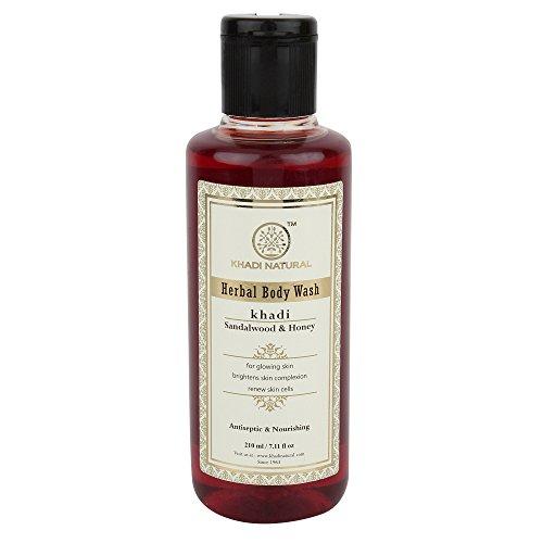Herbal Sandelholz & Honey Body Wash (210 ml) - von Khadi Organic Natural