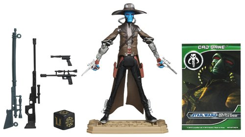 Star Wars The Clone Wars Cad Bane Figure [UK-Import]