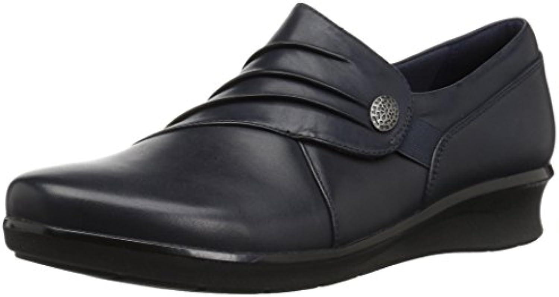 Clarks Wouomo Hope Roxanne Roxanne Roxanne Loafer, Navy Leather, 070 W US | Per La Vostra Selezione  | Uomini/Donne Scarpa  c0faaa
