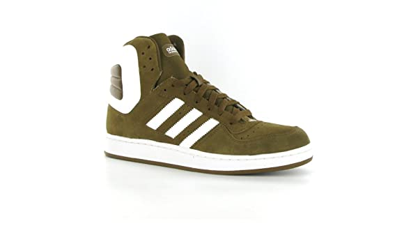 Muscular niebla revista  Adidas Woodsyde 84 Brown Leather Mens Trainers Size 9 UK: Amazon ...