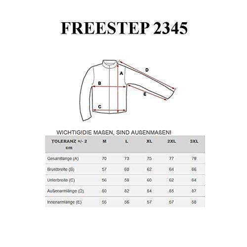 BOLF - Veste à capuche – Softshell - FREESTEP 2345 - Homme Noir-Vert
