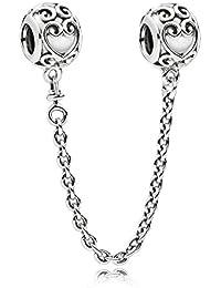 Pandora Charms con cierre Mujer plata - 797036-05