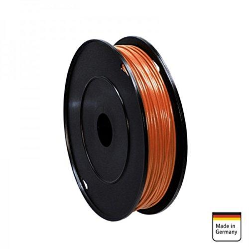 AMPIRE Installationskabel braun 1mm², 120m Rolle, Kupfer