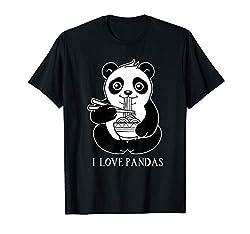 China Pandas Motiv Geschenk Mitbringsel Reise Urlaub T-Shirt