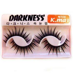 Darkness False Eyelashes K-Ma 9 by False Eyelashes