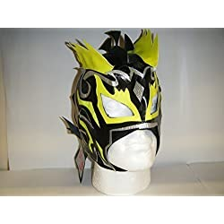 KALISTO LUCHA DRAGONS CHILDRENS ZIP UP WRESTLING MASK by WRESTLING MASKS UK